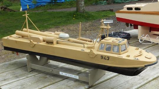 Danny's German 1920's Coastal Patrol Boat