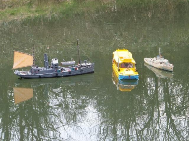 DUKW, trawler & corvette