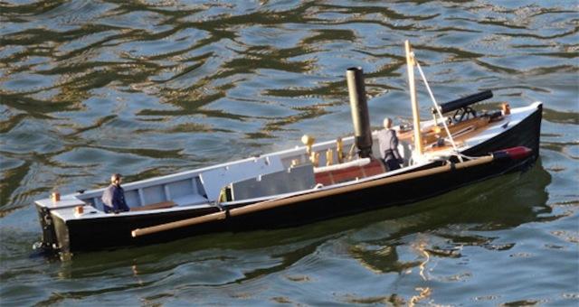 Picket boat maiden voyage