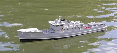 Ross's patrol boat Oct 2014