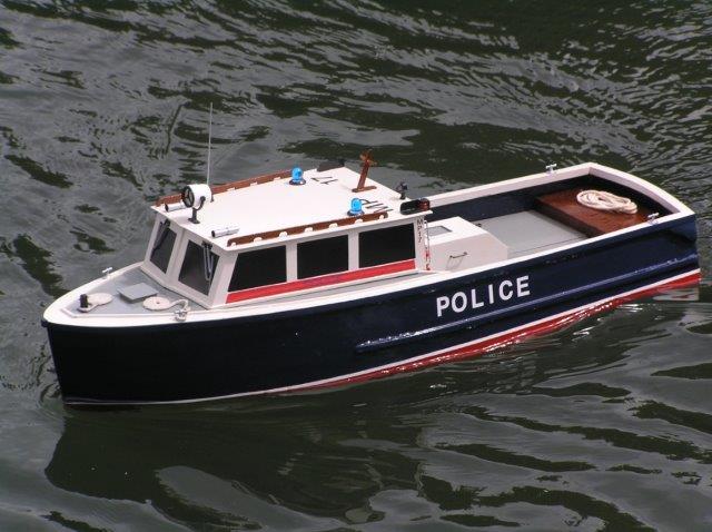 Ross's Police Boat