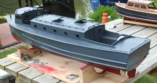 Simon's 1940's Coastguard Picket Boat