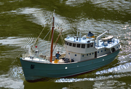 Ted T's Fishing Boat