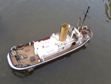 Mike l's maria fellini steam powered tug