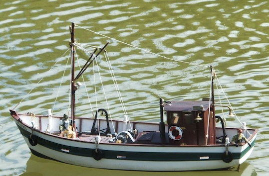 Phil's Fishing Boat April 2017