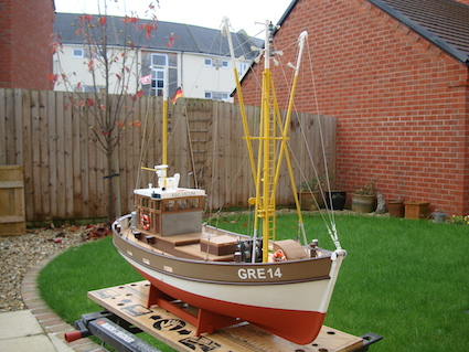 David F's German Fishing Boat