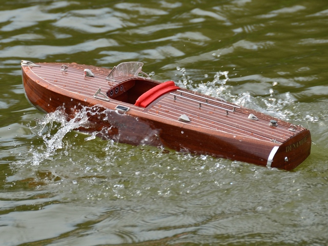 Martins new Riva speedboat