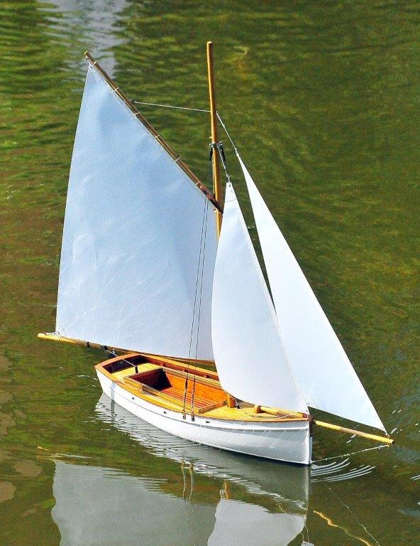 Rodney's sailing dinghy